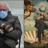 Inauguration Day, Bernie Sanders diventa un meme: i suoi guanti conquistano i social
