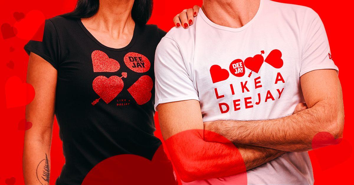 Love Like A Deejay, scopri la nostra nuova collezione di San Valentino