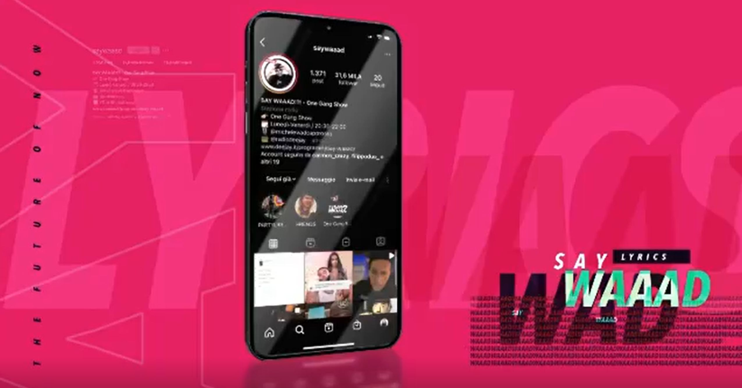 Say Waaad è anche su Deejay Tv e Twitch: appuntamento alle 20.30