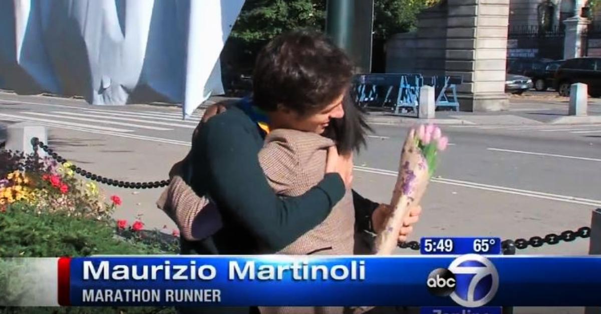 """Maurizio fu l'idolo della maratona di New York 2014: """"Fecero un servizio sul canale ABC"""""""