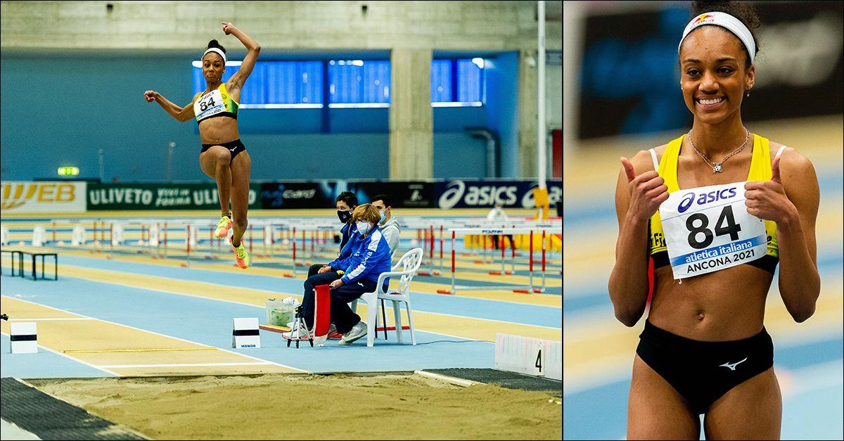 Il salto memorabile di Larissa Iapichino: con 6.91 fissa il record del mondo under 20 indoor