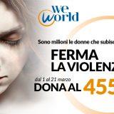 #maipiùinvisibili, la campagna di WeWorld contro la violenza sulle donne
