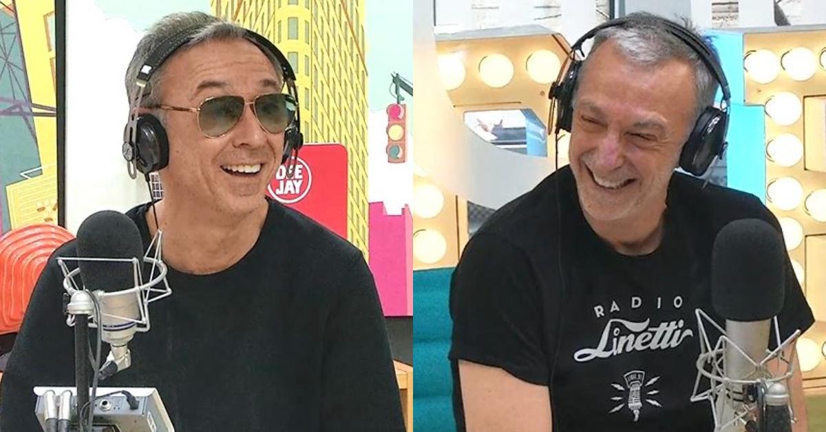 La cameretta di Linus e Albertino: il ricordo dei due fratelli a Deejay Chiama Italia