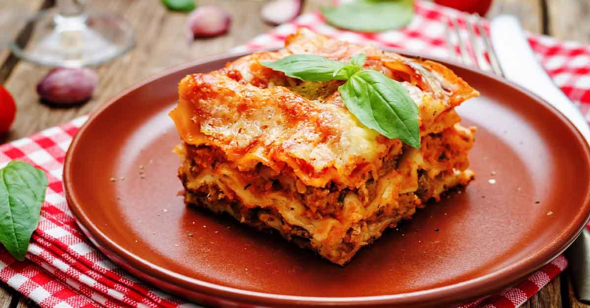 La lasagna può essere mangiata senza sensi di colpa: ecco i consigli della nutrizionista