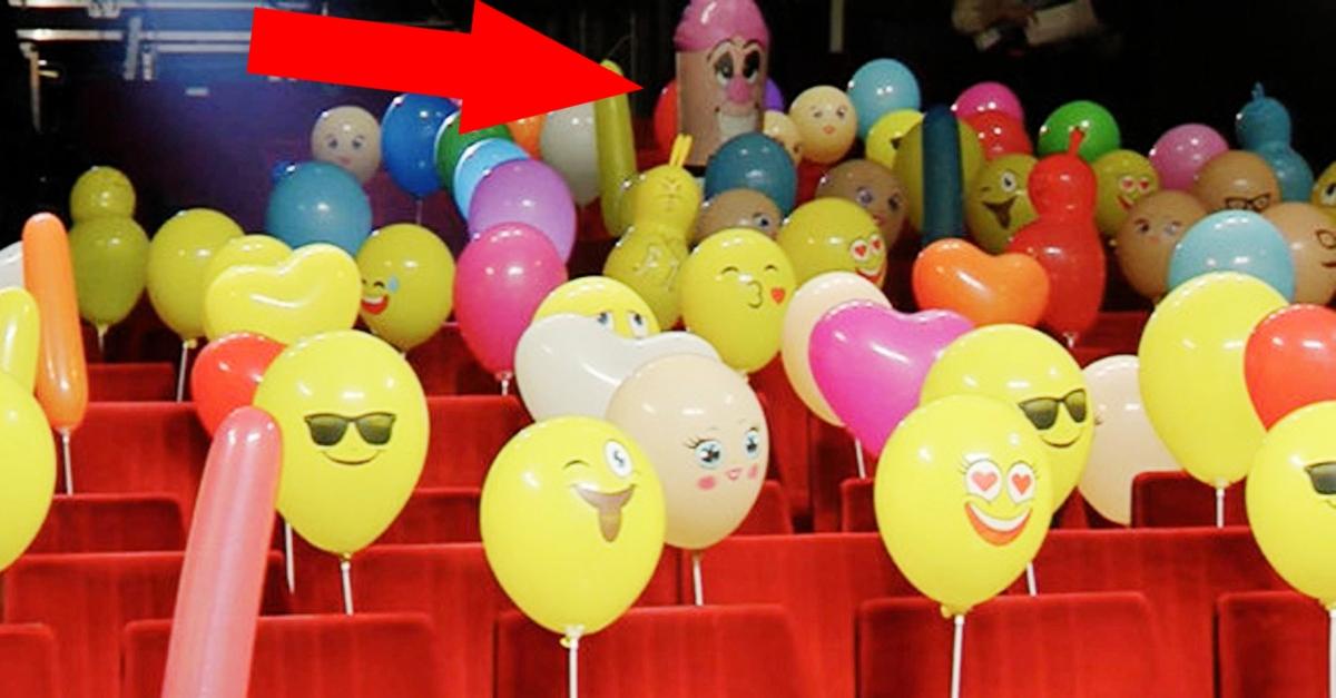 Il palloncino fallico diventa protagonista sui social della seconda serata di Sanremo