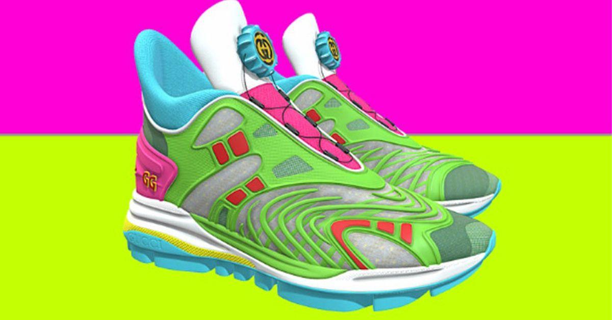 Gucci lancia le nuove sneakers virtuali: costano poco, ma si indossano solo sui social