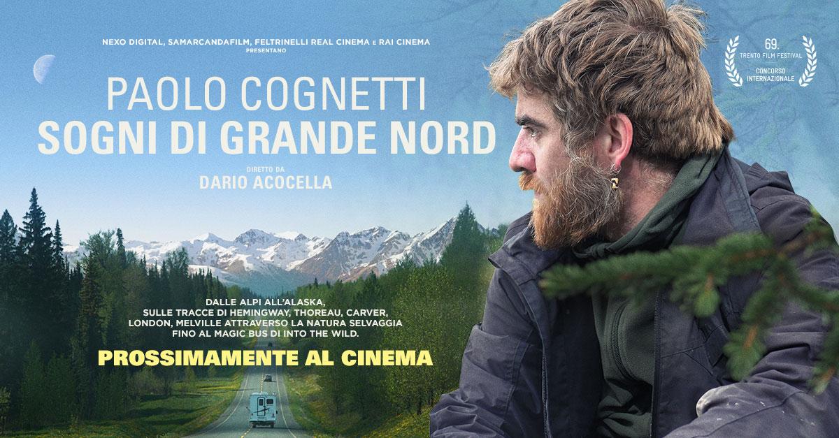 """""""Paolo Cognetti. Sogni di grande nord"""" debutta al Trento Film Festival e prossimamente al cinema"""