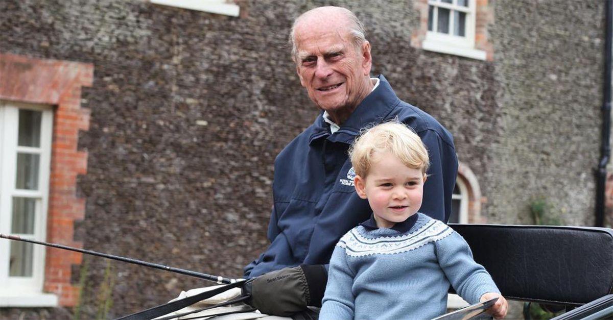 """William, l'omaggio a nonno Filippo: """"Era un uomo straordinario"""""""