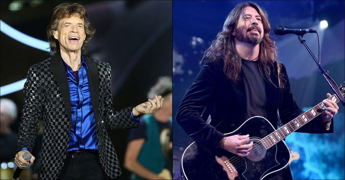 """Mick Jagger pubblica (a sorpresa) un singolo con Dave Grohl: ecco """"Eazy Sleazy"""""""