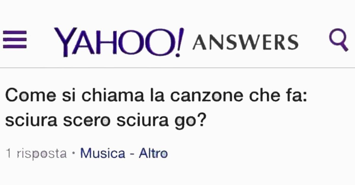 Addio Yahoo Answers: a breve il mitico sito di domande e risposte chiuderà per sempre