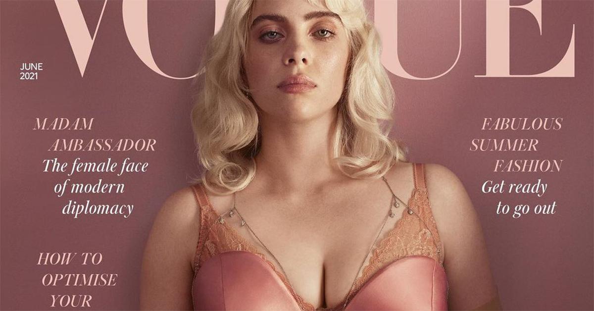 """Billie Eilish in copertina su Vogue: """"Mostrare il tuo corpo non dovrebbe toglierti alcun rispetto"""""""