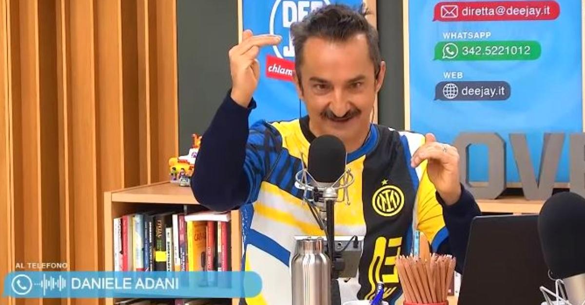 Perché l'Inter ha vinto lo scudetto: Lele Adani da Linus e Nicola (con la nuova maglia)