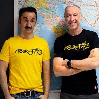 La t-shirt ufficiale del Tour de Fans la trovi solo sul Deejay Store