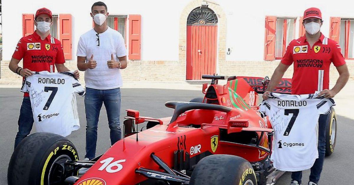 Cristiano Ronaldo in Ferrari: visita Maranello e si regala una Monza Sp2 da €1.6 milioni