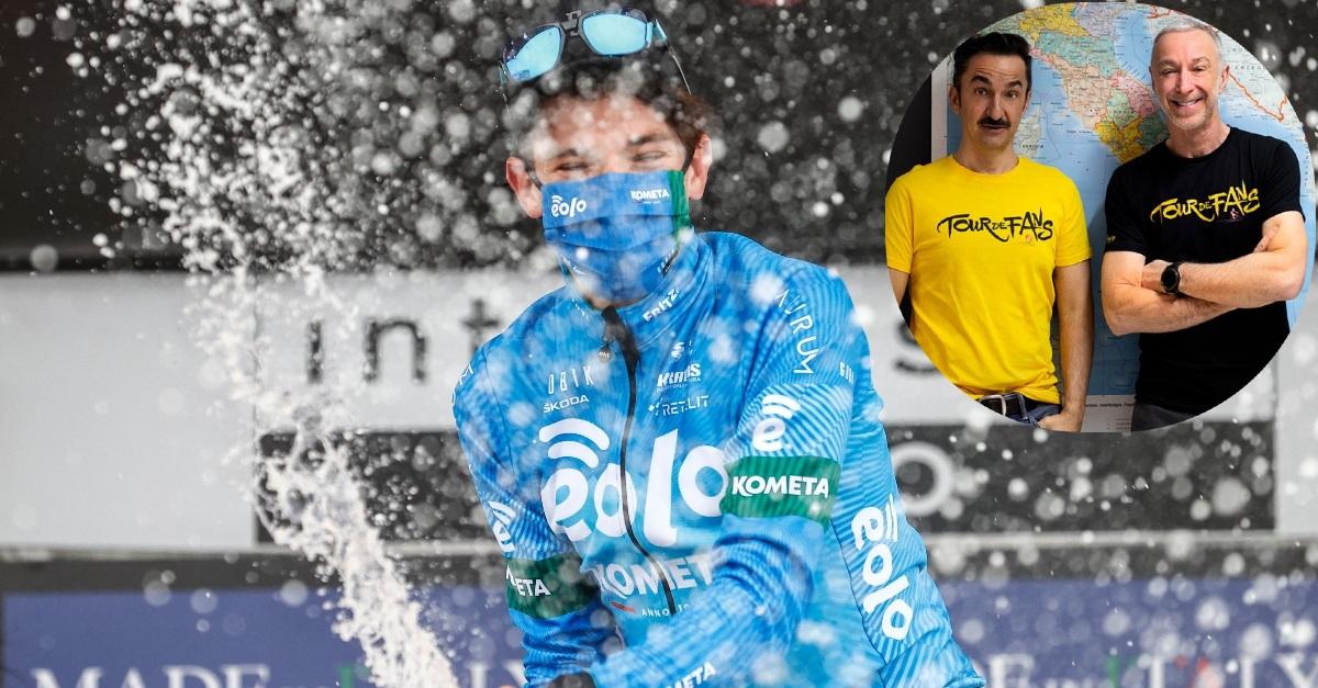 Giro d'Italia: il team EOLO-Kometa vince sullo Zoncolan. Come andrà con Linus e Nicola?