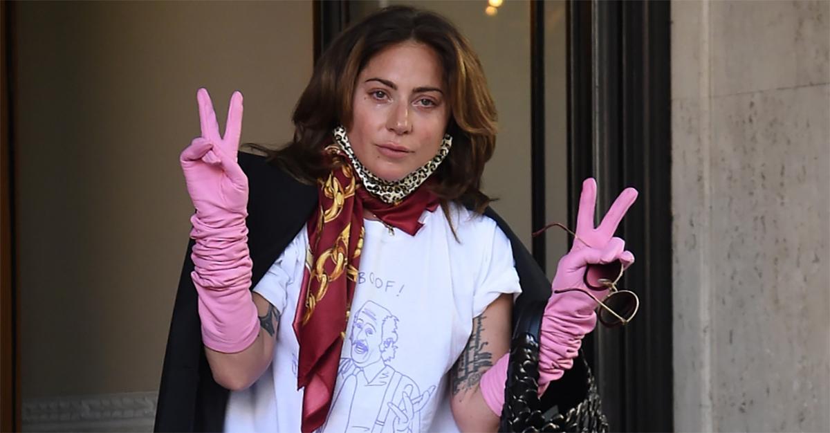 """Lady Gaga lascia Roma in lacrime: """"Sono orgogliosa di essere italiana"""""""