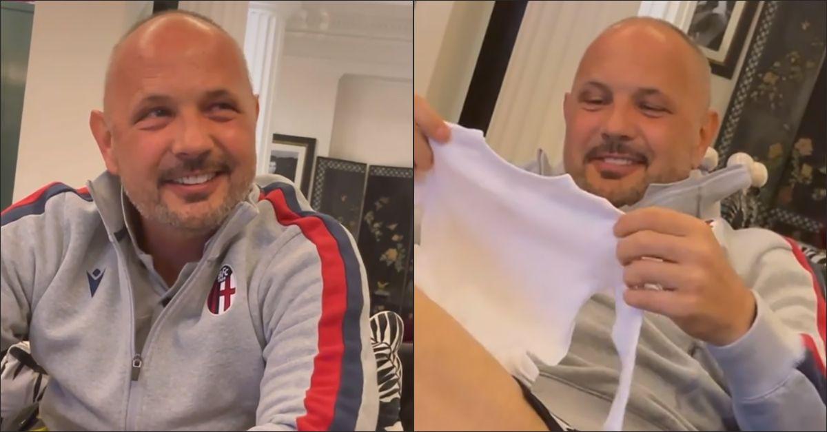 Sinisa Mihajlovic diventa nonno: la sorpresa della figlia Virginia commuove l'ex calciatore