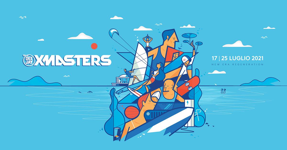 Deejay Xmasters torna a Senigallia dal 17 al 25 luglio…tanto sport sulla spiaggia per tutti!