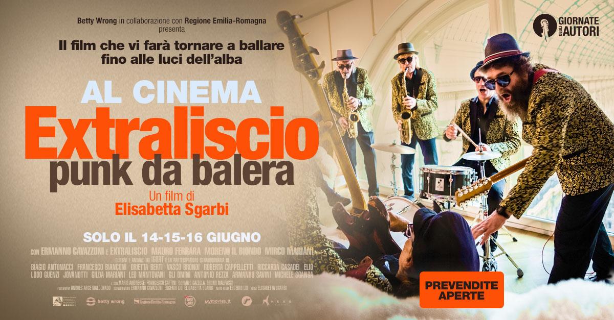 """""""Extraliscio – Punk da Balera"""": la musica romagnola arriva al cinema il 14, 15, 16 giugno"""