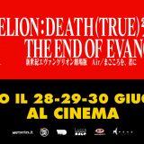 Evangelion: Death (True)2/The End of Evangelion: al cinema solo per tre giorni