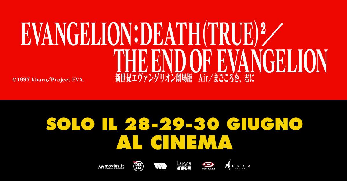 Evangelion: Death (True)2/The End of Evangelion: al cinema l'appuntamento più atteso dai fan degli anime