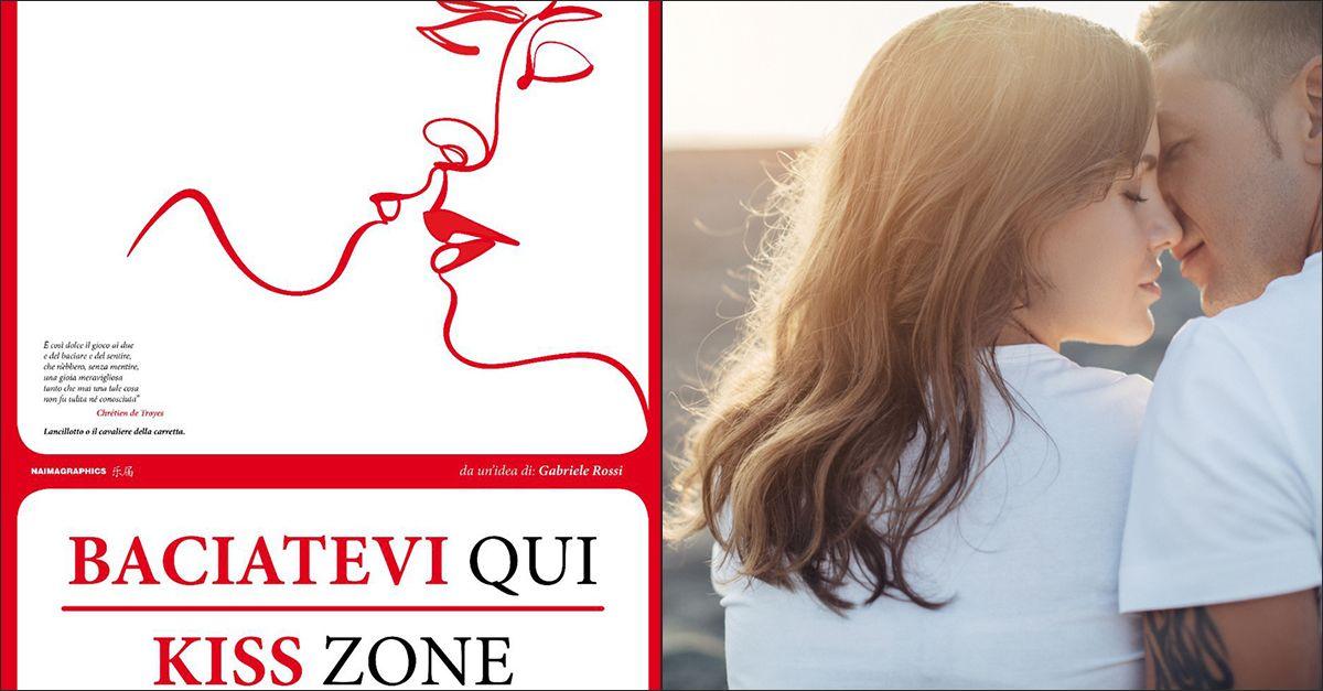 """""""Baciatevi qui!"""", Follonica crea le """"Kiss zone"""" nei luoghi più suggestivi della città"""