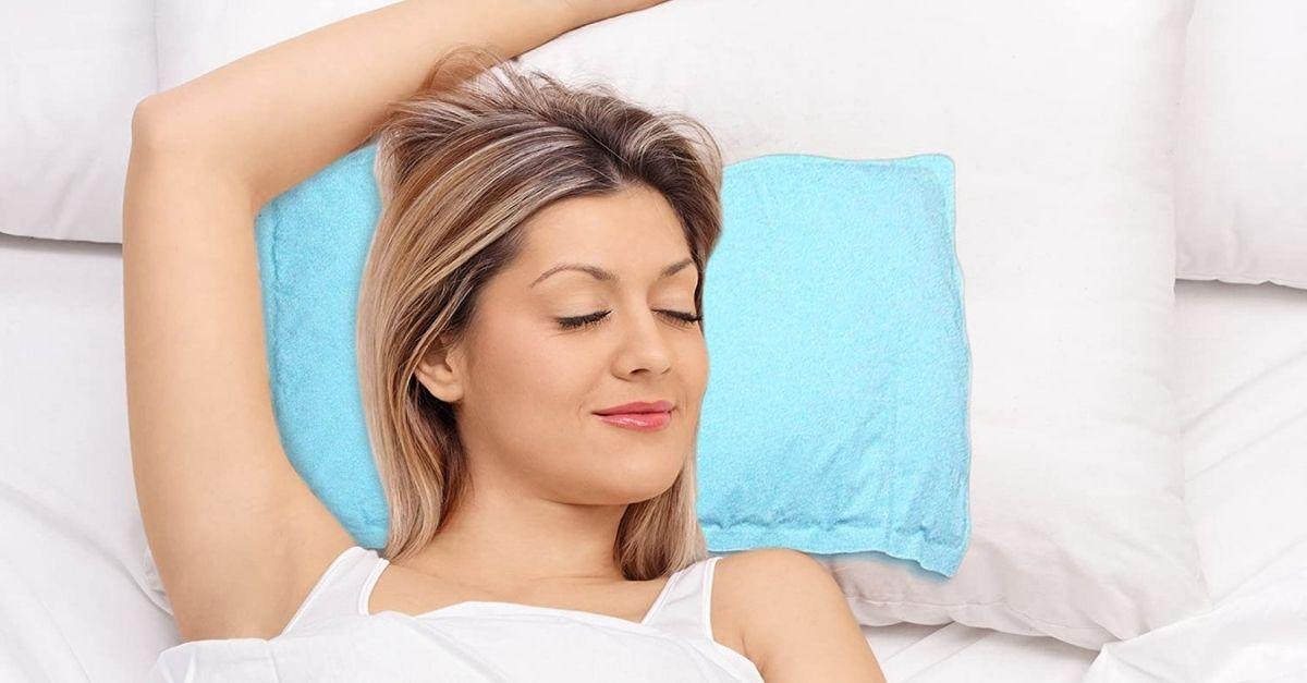 Il cuscino rinfrescante per le notti roventi in arrivo