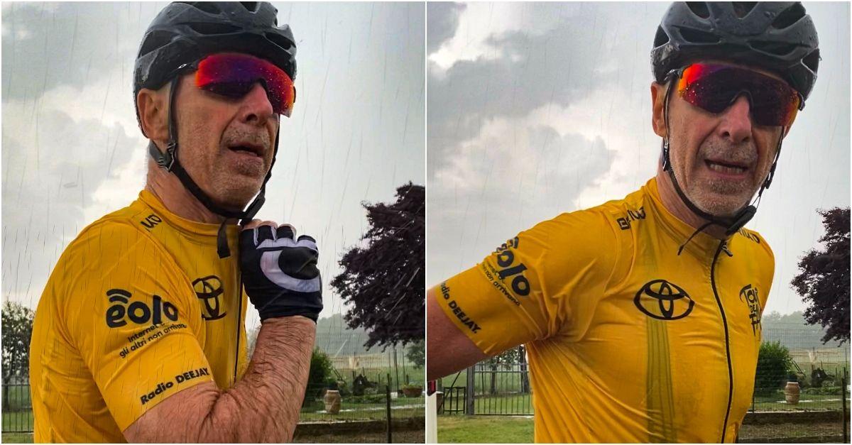 Tour De Fans, l'ottava tappa sotto la pioggia: da Rosignano Solvay a Montalcino