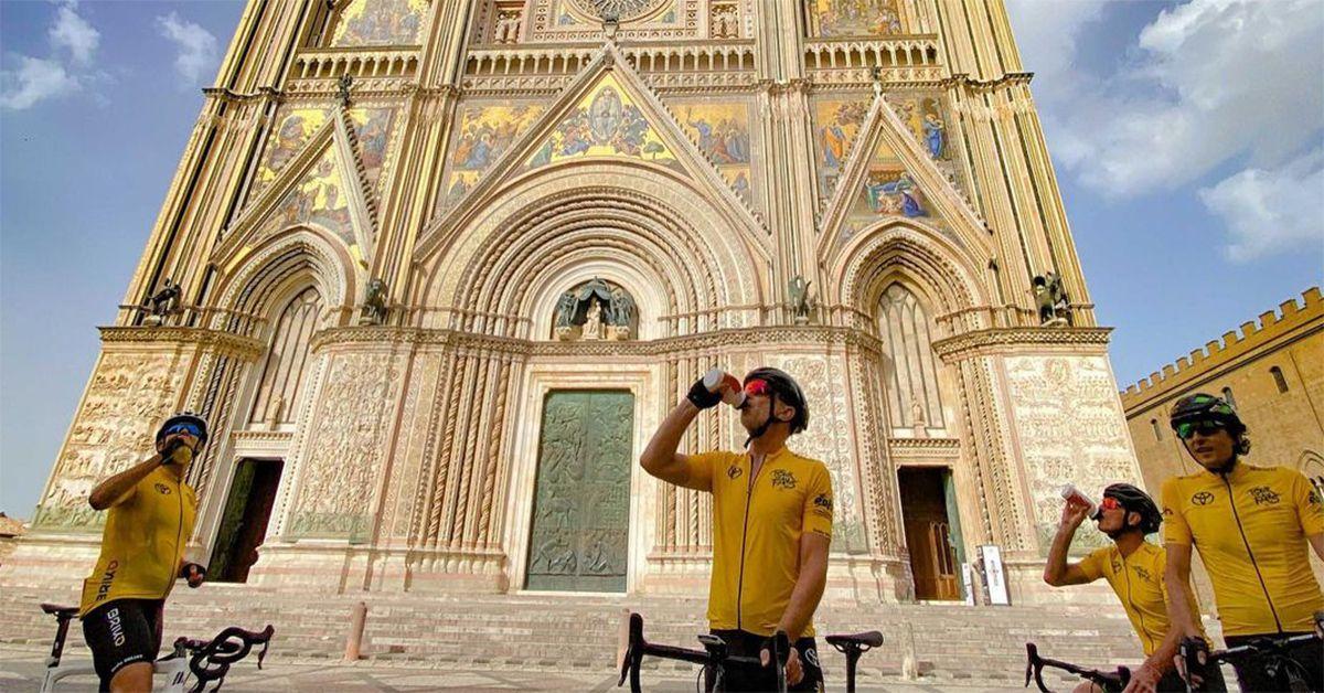 Tour de Fans, undicesima tappa: da Assisi a Orvieto
