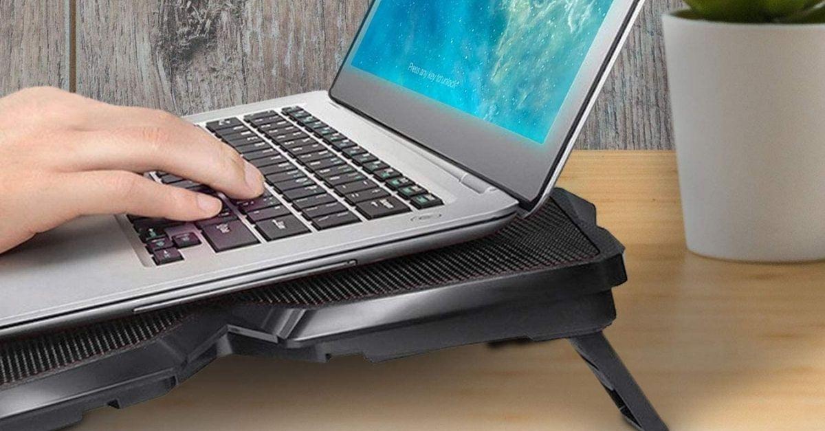 Fondamentale per chi è sempre davanti al pc: la base di raffreddamento per laptop