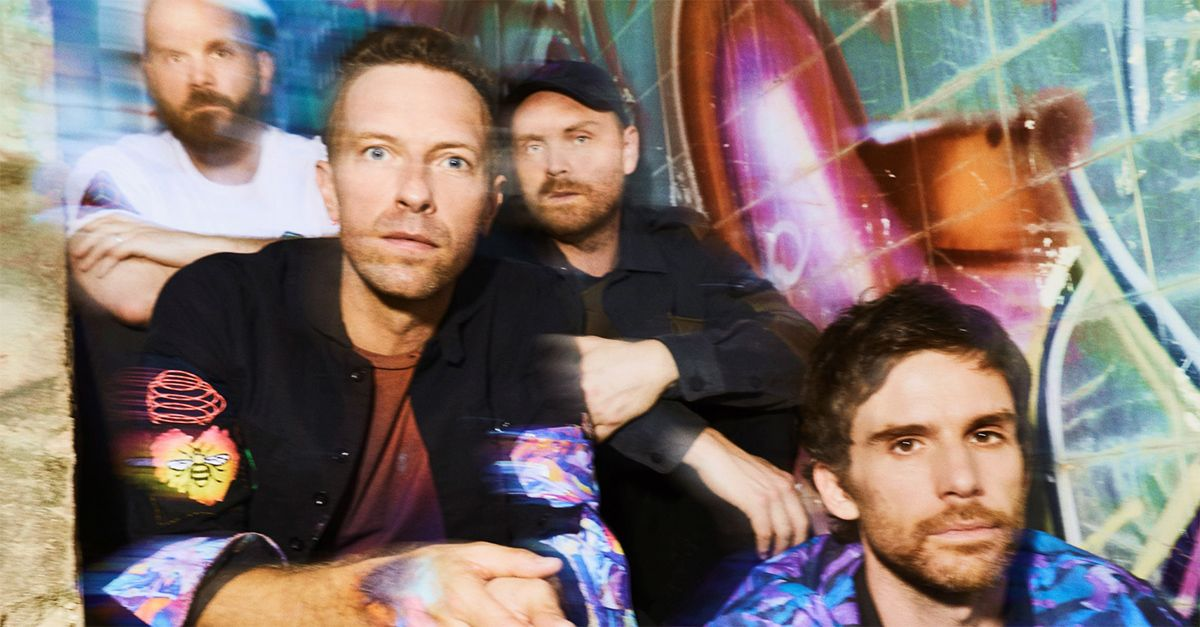 """Coldplay annunciano la data d'uscita del nuovo album """"Music Of The Spheres"""""""