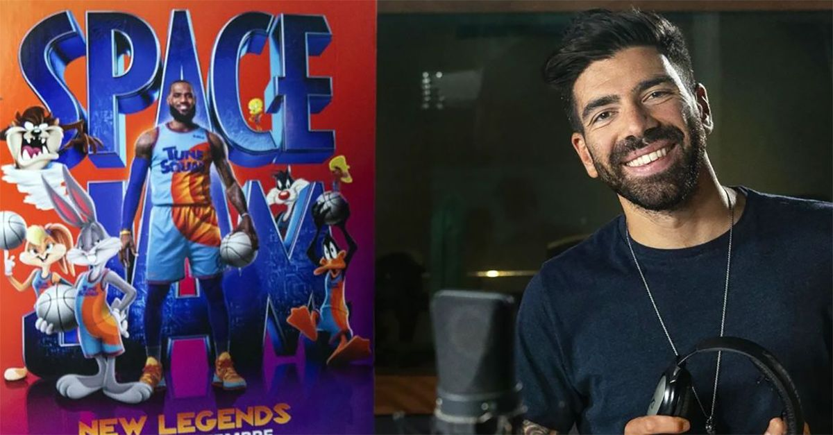"""Space Jam: New Legends"", Gianluca Gazzoli tra i doppiatori del film con LeBron James"
