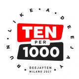 "Sei iscritto alla My Deejay Ten? Partecipa al concorso ""Ten X 1000"""