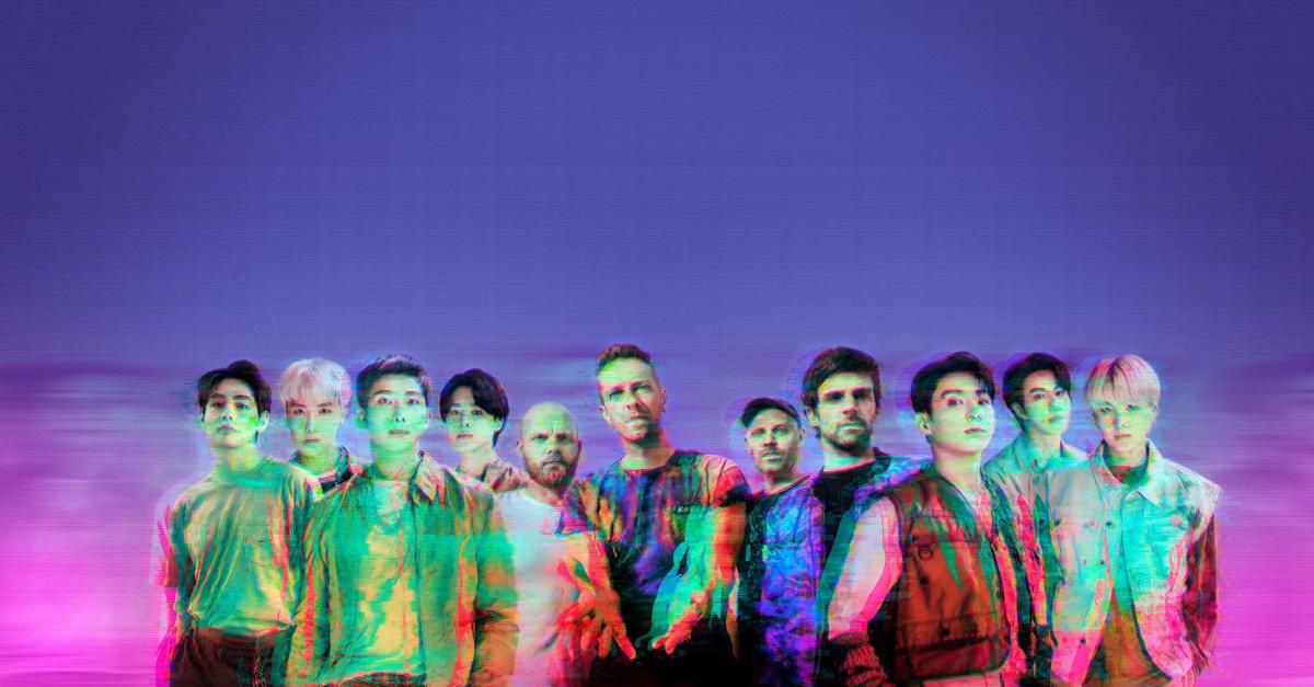 """I Coldplay rilasciano il nuovo singolo """"My Universe"""" insieme ai BTS"""