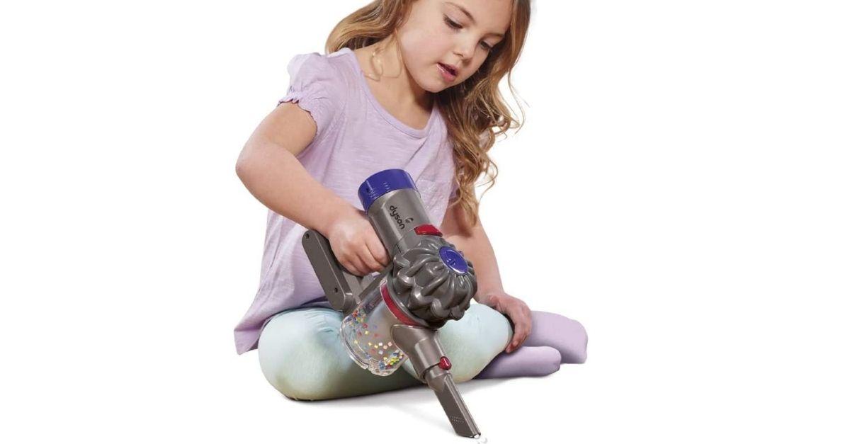 Il Dyson per bambini: l'aspirapolvere gioco (che funziona davvero)
