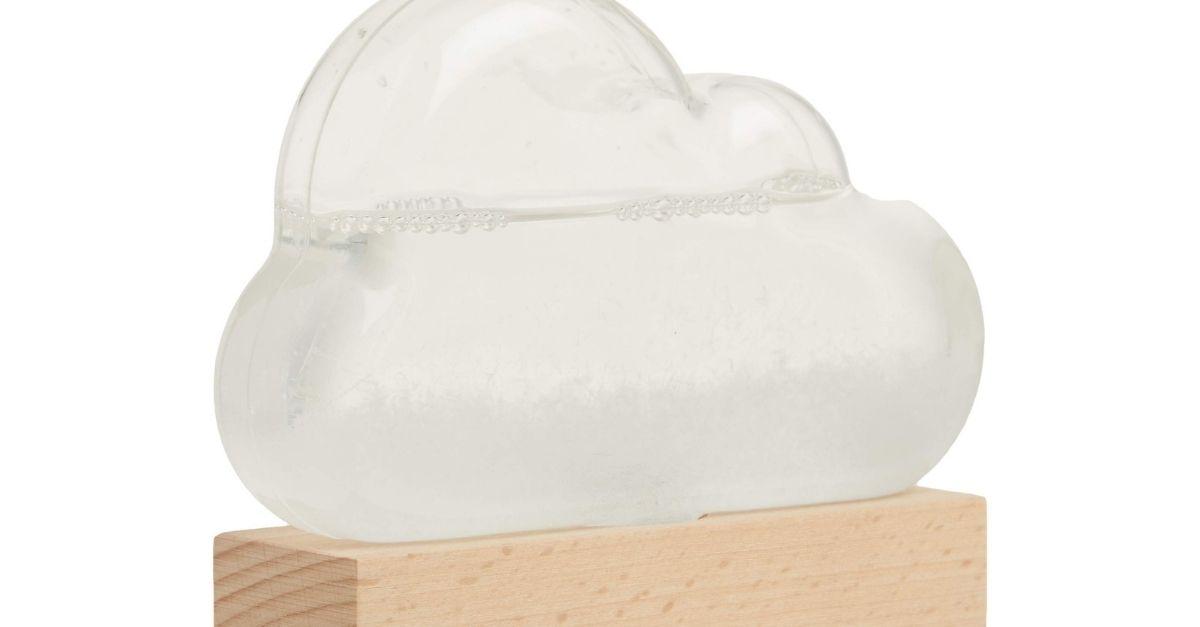 Questa nuvola da piazzare sul comodino vi comunica le previsioni meteo