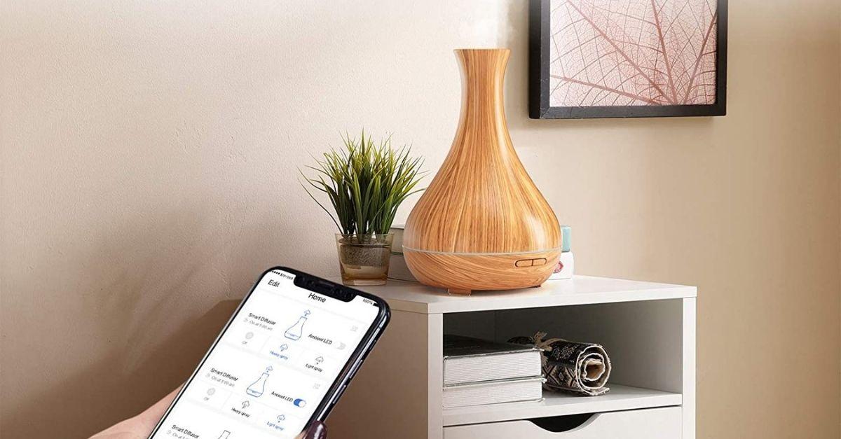 L'umidificatore smart che si connette allo smartphone