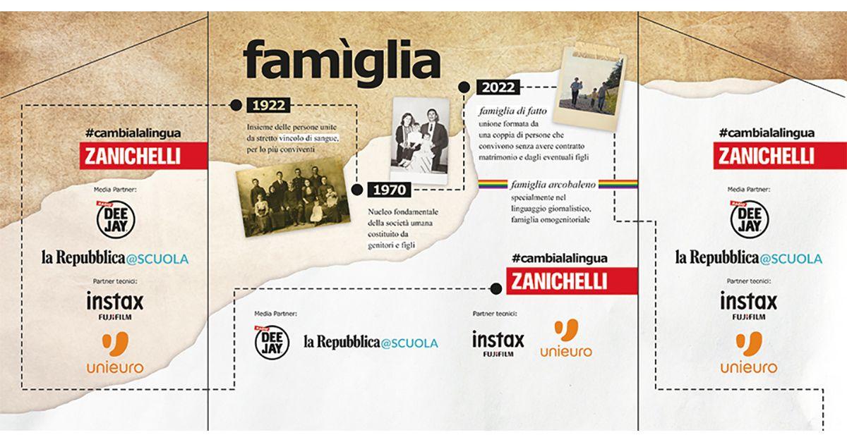 Zanichelli invita tutti a #cambialalingua: siamo noi che cambiamo le parole!