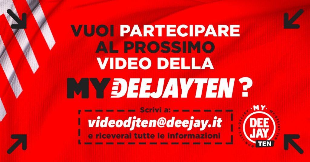 My Deejay Ten, come partecipare al video