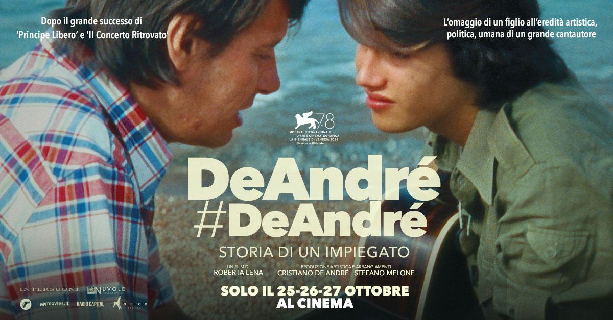 """""""Mio padre è una tachipirina per l'anima"""": al cinema il documentario su Fabrizio De André"""