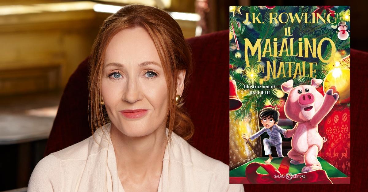 """Il nuovo libro di J.K. Rowling è """"Il Maialino di Natale"""". È il primo romanzo dopo """"Harry Potter"""""""