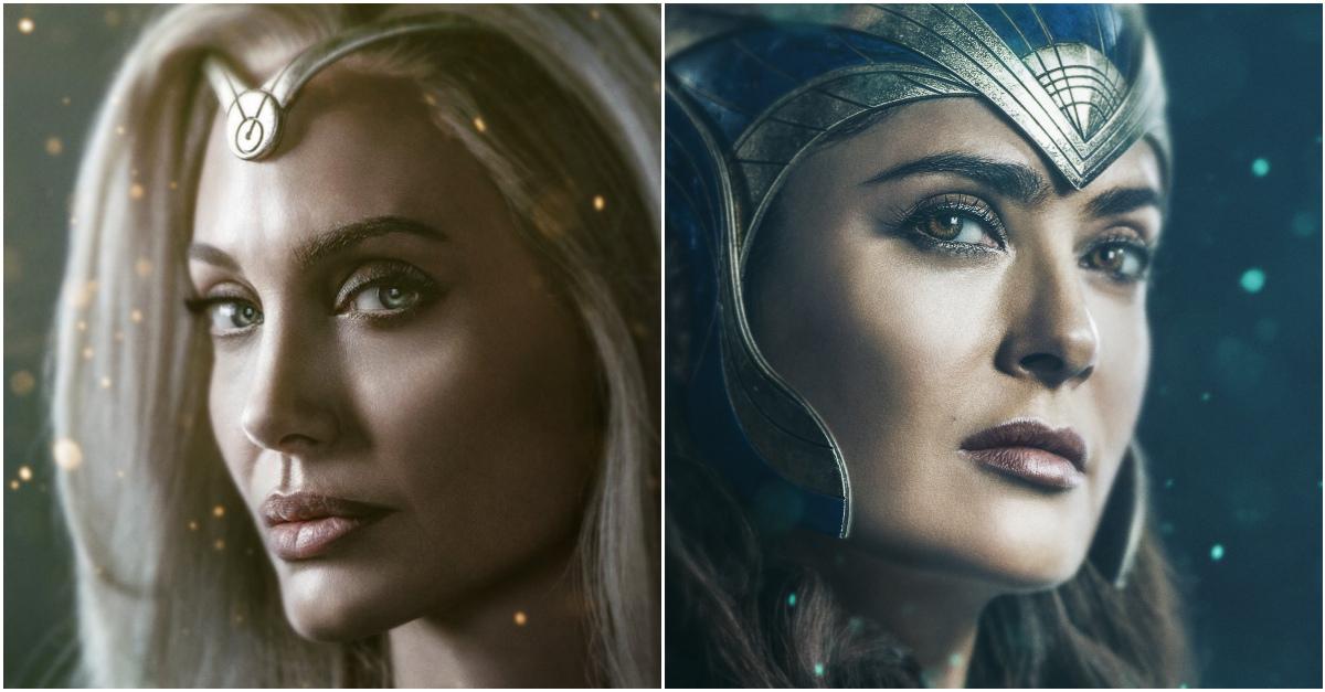 """Sale l'attesa per """"Eternals"""", l'ultima perla della Marvel con Angelina Jolie e Salma Hayek"""