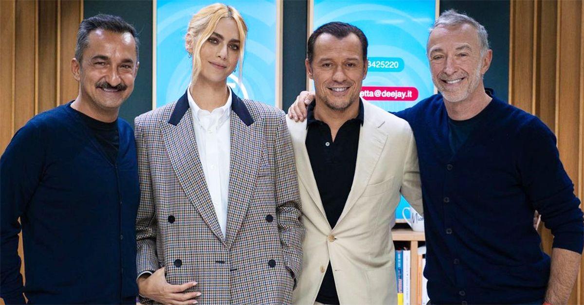 """Miriam Leone e Stefano Accorsi protagonisti di """"Marilyn ha gli occhi neri"""": l'intervista a Deejay chiama Italia"""
