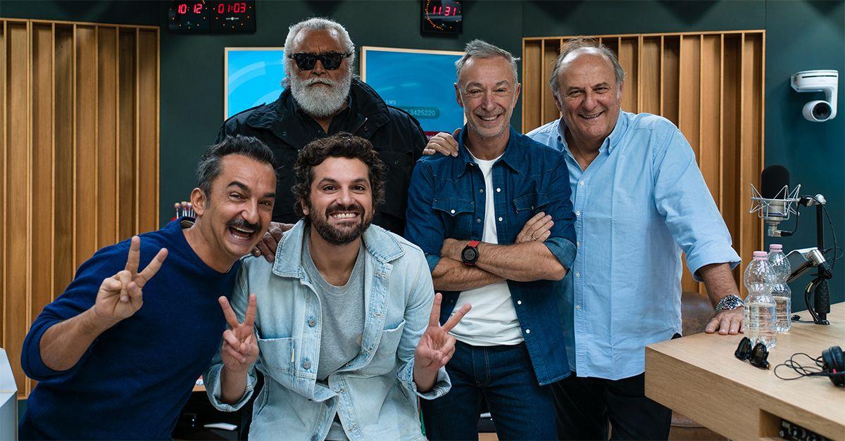 Metti 5 amici a Deejay chiama Italia: Gerry Scotti, Diego Abatantuono e Frank Matano live
