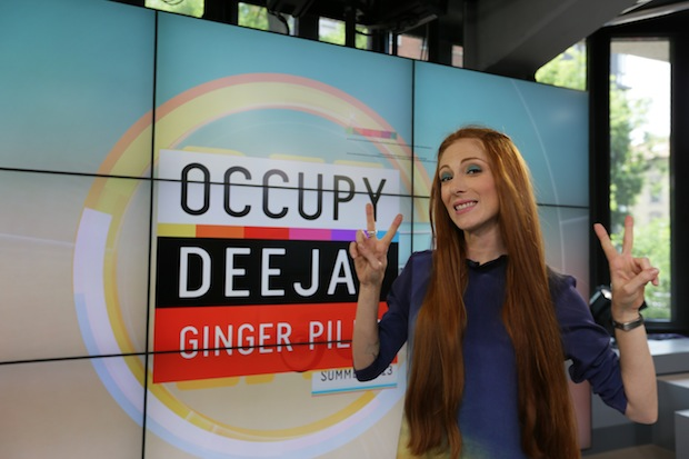 Foto Occupy Deejay Ginger Pills Radio Deejay