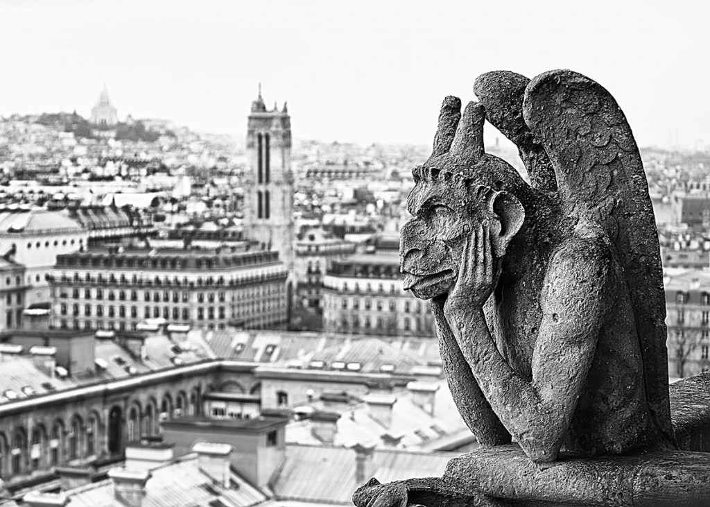 Popolare Foto Da Parigi a New York, angoli di città in bianco e nero  CN84