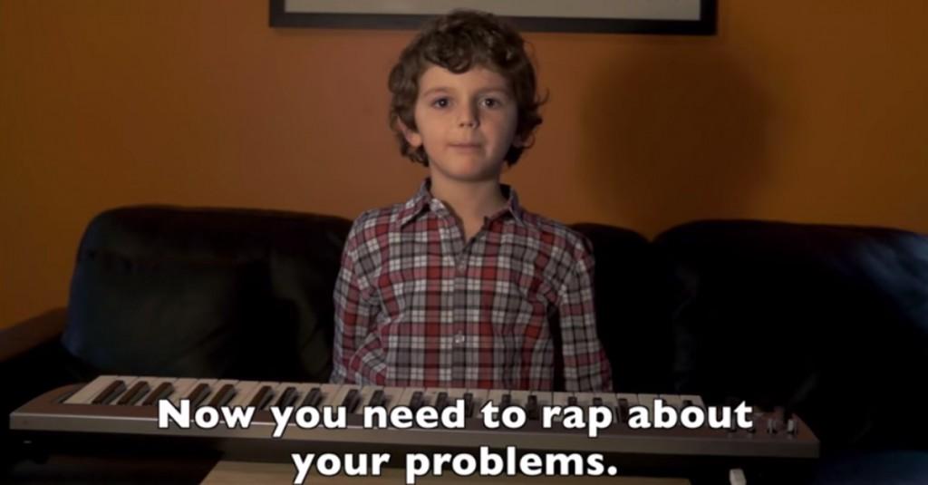 La provocazione di Jordan, 5 anni: come scrivere una canzone rap in 30 secondi
