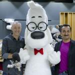 Mr. Peabody a sorpresa a Deejay Chiama Italia