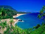 Spiaggia a nord di Kauai