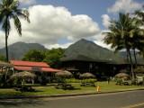 Hanalei, città con veduta del Monte Na Molokama e Māmalahoa